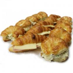 Mini croissants farcits