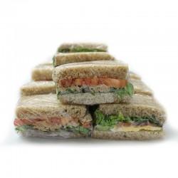 Mini sandwich de pan tierno...
