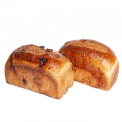Pan de molde (con pasas o...