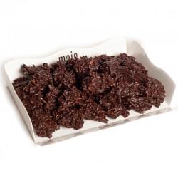 Rocas de chocolate y almendra